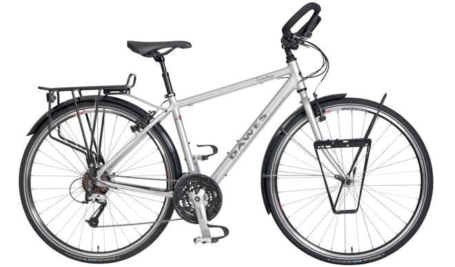 Bicicleta com Bagageiros Instalados