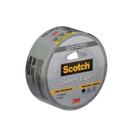 Fita Adesiva Silvertape 3m 45mmx5m Scotch-3m