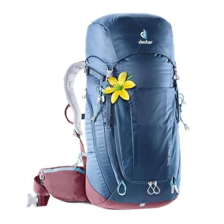Mochila Trail Pro 34 Sl 2019 Azul Deuter