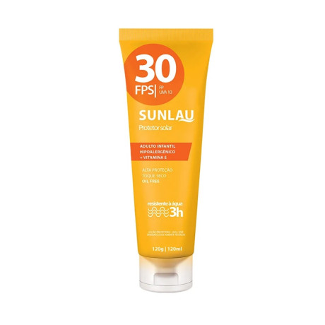 Protetor Solar Fps30 120g Sunlau