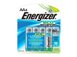 Pilha Eco Advanced (AA) 4un Energizer