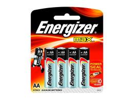 Pilha Max (AA) 4un Energizer