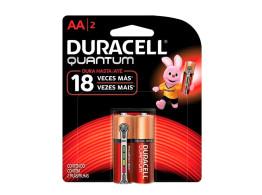 Pilha Quantum (AA) 2un Duracell