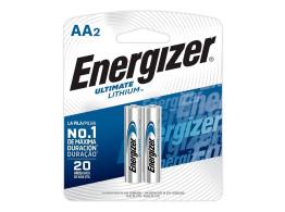 Pilha Ultimate Lithium (AA) 2un Energizer