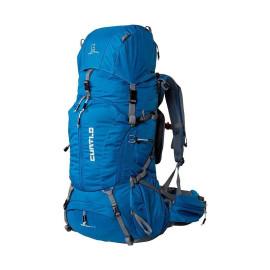 Mochila Mountaineer 50+10 Azul Petróleo Curtlo