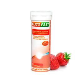 Pastilhas de Glicose 10 Unds Morango Glicofast