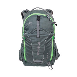 Mochila Trail Lite 23L Cinza/Verde Curtlo