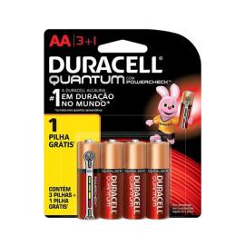 Pilha Quantum (AA) 4 Unds Duracell