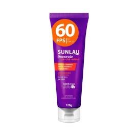 Protetor Solar Fps60 120g Sunlau